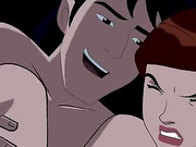 All-hole sex with Gwen from Ben 10