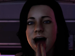 Shepard and Miranda from mass effect