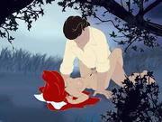 Ariel Mermaid gets plowed