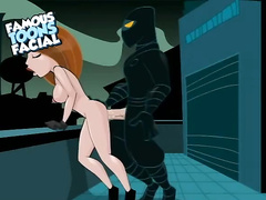 Kim Possible loves huge evil cocks