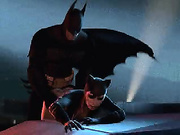 Batman punishes naughty female villains
