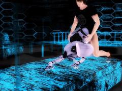 Virtual robo pussy part 3