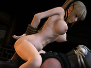Final Fantasy - Rose blowjob and anal