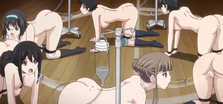 Порно аниме тайный клуб