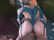 Super Street Fighter Turbo Fuck Compilation (3D HD)