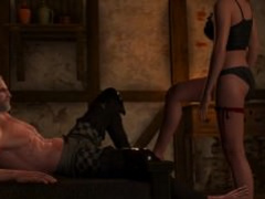 Sex with Bertha #3 in The Witcher 3: Wild Hunt