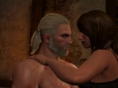 Sex with Bertha #2 in The Witcher 3: Wild Hunt