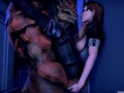 Mass Effect - Wrex - Full Compilation