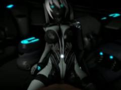 SFM Cyborg Hatsune Miku (by SFMPOV)