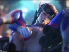 OMG - An Overwatch PMV with D.Va and Widowmaker