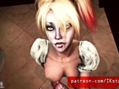 Harley Quinn Cum Comp