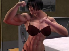Female Muscle Growth- The Pill