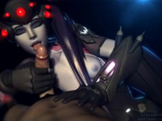 Widowmaker Overwatch PMV Bad Romace Lady GaGa
