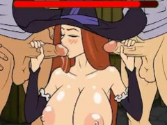 Witch gangbang