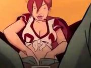 Riding Shotgun Sexy Cartoon