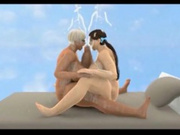Two futanaris 3D with bigboobs facialed