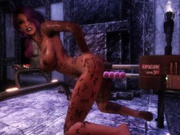 KoMachine double hard deep penetration (Game: Skyrim Animation)