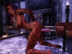 KoMachine double hard deep penetration (Game: Skyrim Animation)
