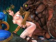 Palutena and The Beast - Nintendo Parody