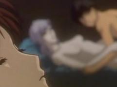 Hentai couple hot poking