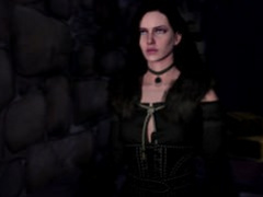 Yennefer and ghoul