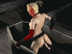 Harley Quinn tries porn - compilation part 6