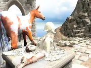 Fantasy 3D - Lara Croft twith horse 2 episode 4 part 4