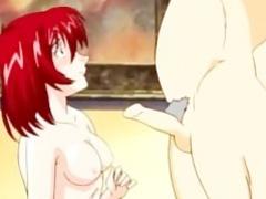 Older man fucking an anime hottie