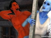 Assazell and that sexy blue slut