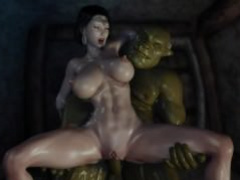 Secret Of Beauty Orc Ritual (Uncensored) 3D Hentai