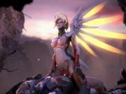 Overwatch - best mercy animation