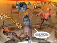3D Comic: Habitat 5. Episode 6