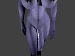 WoW - Reverse POV Blowjob and Balls sucking on Futa Draenei