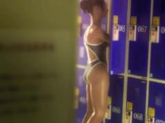 Swimmer fucking in the locker room