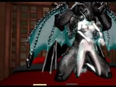 Black Dc Draconian, Silver F dragon mating