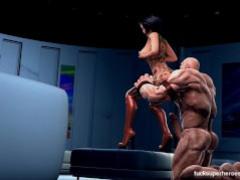 Juggernut and the breasty slut
