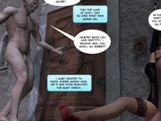 3D Comic: Fetish Island. Episodes 1-2