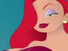 Jessica Rabbit fucked and cum on.