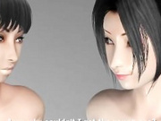 Umemaro 3D Twin Succubus (English Subbed)