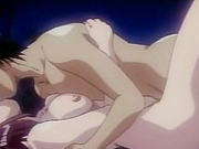 Sexy hentai action on the seashore