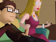 Shot animation - american dad porn