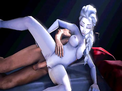 Elsa from Frozen in hardcore porn, assembly 2017, part 1/5