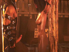 Secrets of the BDSM dungeon - Mileena from Mortal Kombat part 1