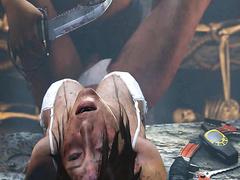 Bondage adventures - Lara Croft from Tomb Raider part 3