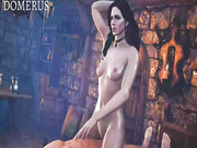 Unleashed hardcore fun - Yennefer from The Witcher 3, assembly, episode 2