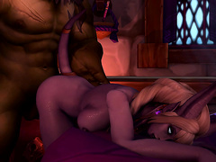 Orc gets to stick his big dick / The Last Night part 4