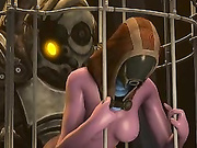 Monster cocks in 3D cunts / Tali'Zorah nar Rayya from Mass Effect, compilation part 3