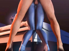 Fresh toon pussy for hung studs - Cortana from Halo, assembly, part 2