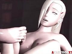 Excellent big cock Futanari sex scenes for fans