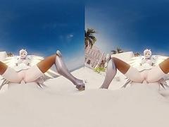 Mercy Cowgirl Sound - Hentai VR Porn Videos